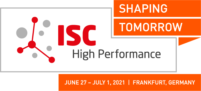 ISC High Performance Logo ISC 2020 red w/o date