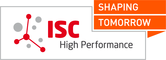 ISC High Performance Logo ISC 2020 white w/o dates