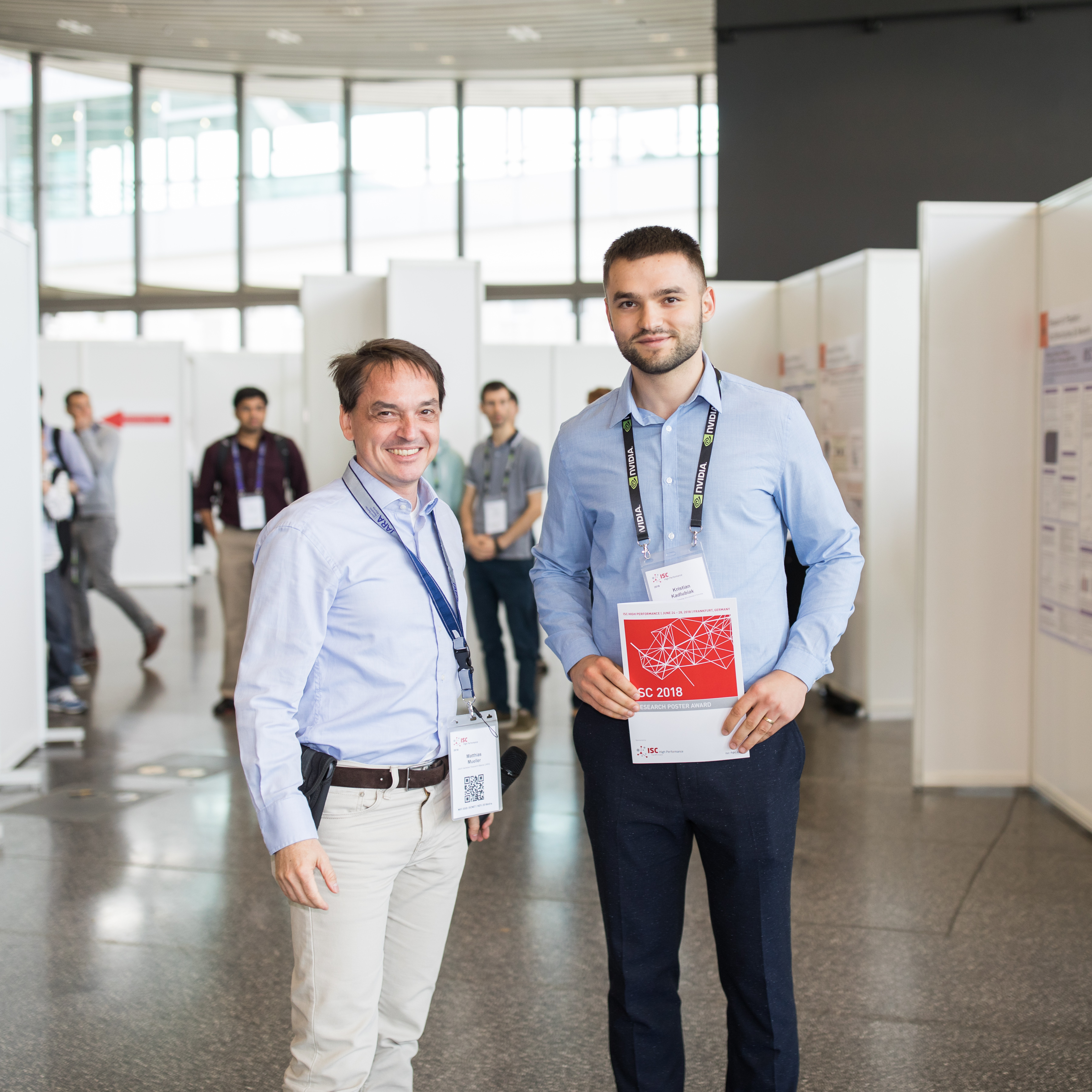 ISC2018 Research Poster Award winner